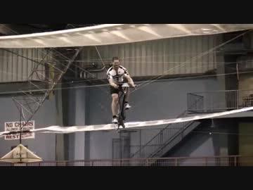 世界記録を達成した人力ヘリコプ...