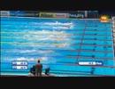 【ニコニコ動画】世界水泳バルセロナ 男子100M 自由形 決勝を解析してみた
