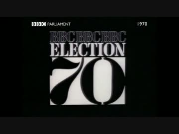 英国1970年総選挙 BBC特番 by KS...