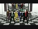 【MMD】スーツ真選組&JOY4&新八で<威風堂々>【銀魂】