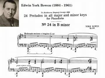 Y.Bowen - Twenty-four Preludes...