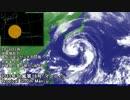 【大型】 2013年台風第18号「マンニィ」の映像を繋げてみました