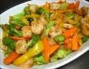 【ニコニコ動画】酒の肴の海老と緑黄色野菜のナンプラー炒めを解析してみた