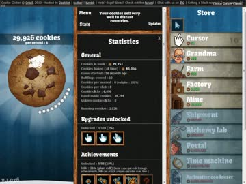 TAS】Cookie Clicker 5:02くらい - nicozon