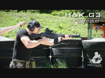 【リロード対決】AK47 vs HK 416 vs HK G3