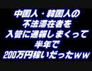 不法滞在者を入管に通報しまくって半年で200万円ww