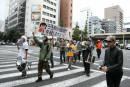 【20131019】ニコニコ「GINZA」による「原宿」バージョン廃止反対デモの模様