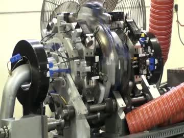 円環対向自由ピストンエンジン b...