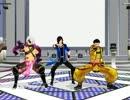 【MMD】エアロビ版smooooch・∀・【戦国BASARA】