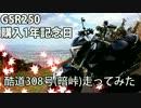 【ニコニコ動画】【GSR250】暗峠【1周年記念】を解析してみた