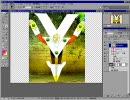 【ニコニコ動画】超・初心者のためのフォトショップ講座8 マスク(基本)とグループ化を解析してみた