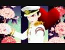 【ダンロンMMD】軍服着た三人の石丸くんたちで「Girls」【再投稿】