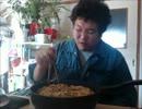 第46位:焼そばを10玉焼いて食べた。