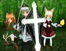 魔法で変形する「盾と剣」