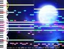 【ニコニコ動画】【オリジナル曲】「蒼月」(かっこいい和風)を解析してみた