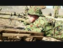 日米合同演習 アイアンフィスト 2014 狙撃訓練