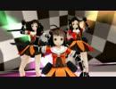 【MMD】川内型三姉妹でコンピューターシティ【艦これ】