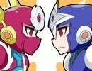 第67位:鋼男と影男でドーン(+α)【手描きロックマン】 thumbnail