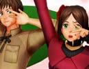 【APヘタリアMMD】 「女の子の恋心は気紛れなんよ♡」「えっ(´ヮ`;)」 thumbnail