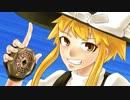 【戦闘gif風アニメ】霧雨魔理沙VS八雲紫 【2639枚】