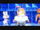 ソチオリンピック2014 閉会式聖火消すクマさん