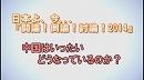 1/3【討論!】中国はいったいどうなっているのか?[桜H26/3/15] thumbnail