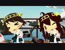 【ニコニコ動画】【MMD艦これ】へちょい金剛型4姉妹でGirlsを解析してみた