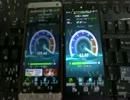 Nexus5 vs HTL22 11acスピードテスト