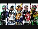【手描き仮面ライダー】E-X-A【Exciting×Attitude】
