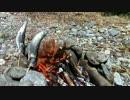 【ニコニコ動画】【アウトドア】奥多摩で渓流釣り&現地食い Part2(実食篇)【自然】を解析してみた