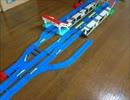 【ニコニコ動画】【プラレール】二面三線の駅の作り方を考えるを解析してみた