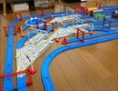 【ニコニコ動画】【プラレール】上下線の間にある車両基地の作り方を考えるを解析してみた