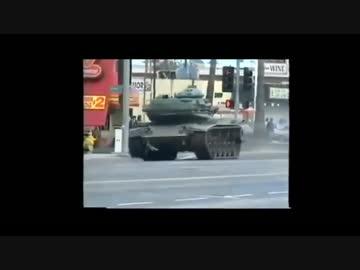 衝撃】警察 vs 戦車 by サティバ...