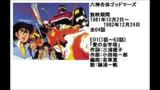 80年代アニメ主題歌集 六神合体ゴッドマーズ