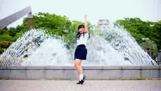 【みゆちー】水色サマーデイズ踊ってみた【噴水vsまゆげ】