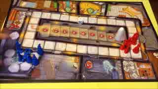 フクハナのひとりボードゲーム紹介 NO.26『ヒューゴ:オバケと鬼ごっこ』
