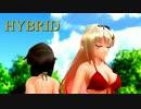 【MMD艦これ】夕立&時雨の改二コンビで、HYBRID