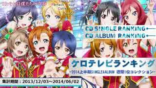 2014年上半期シングル・アルバム週間1位コレクション【ケロテレビ】