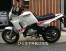 素人の俺が YAMAHA TDR50に DT230 ランツァ  のエンジンを 載せてみた