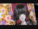 博麗霊夢を油絵で描くお絵描き合宿 15【3日目・髪の毛の描き込み】
