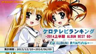 上半期アニソンランキング 2014 ALBUM BEST 60【ケロテレビ】