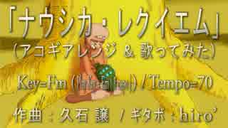 【アコギアレンジ】ナウシカ・レクイエム 歌ってみた【コード譜あり】