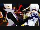 【MMD】豊臣の両腕でムーンライト伝説【戦国BASARA】