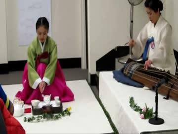 【吹いたら親日】帰ってきた韓国茶道