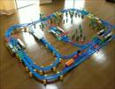 【ニコニコ動画】【プラレール】二面二線の駅の作り方を考えるを解析してみた