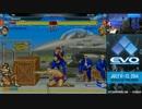 EVO2014 day2 スパ2X 3on3 X-ManiaUSA TOP8 Japan1(ウメヌキときど) vs OGSF
