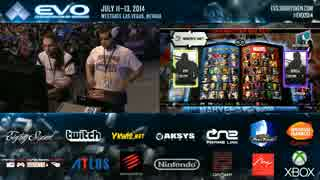 EVO2014 day3 UMVC3 LosersQuarterFinal Flocker vs Chris G