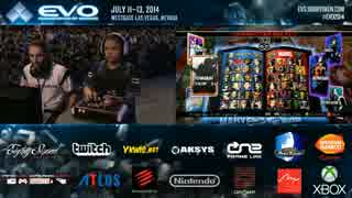 EVO2014 day3 UMVC3 LosersFinal Filipino Champ vs Chris G