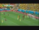 【ニコニコ動画】2014年ブラジルW杯 全ゴール集 パート2を解析してみた