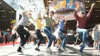 【RAB】フランス Japan Expo内でおジャ魔女カーニバルを踊ってみた